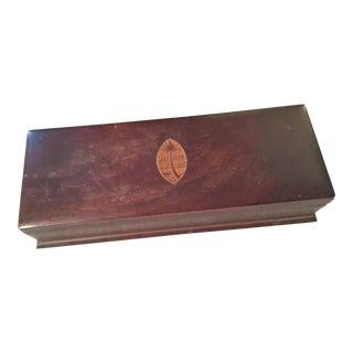 "Vintage ""Guam"" Inalid Wooden Trinket Box"