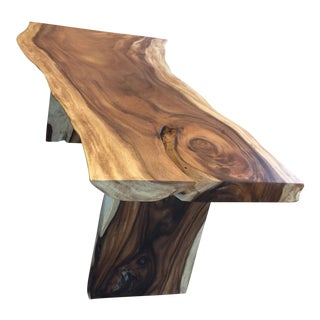 HD Buttercup Live Edge Dining Table