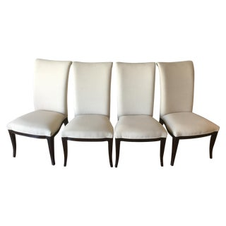 Thomasville Nocturne Upholstered Dining Chairs-S/4
