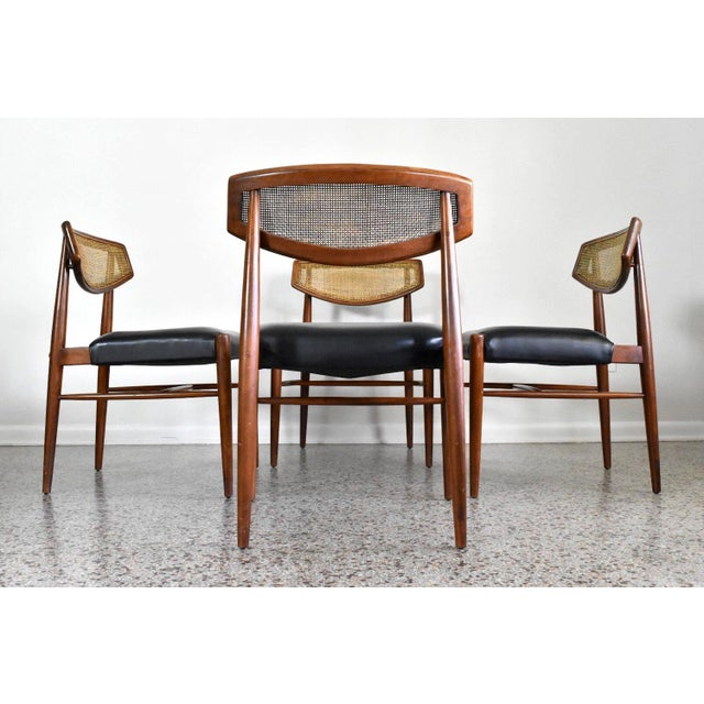 Image of Danish Modern Teak Dining Chairs - Set of 4