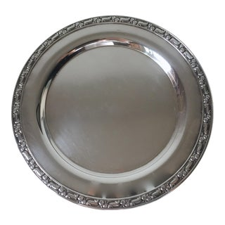 Arts & Crafts Style Silver Dish-Oneida
