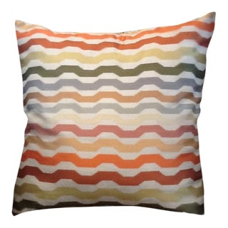 Custom Missoni Pillow