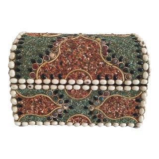 Multi Stone Jewelry Box