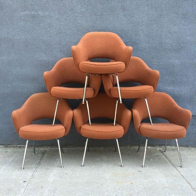 Image of Eero Saarinen for Knoll Chairs - Set of 6