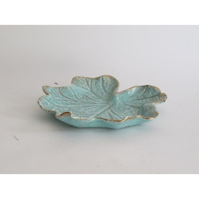 California Pottery Leaf Dish - Image 5 of 5