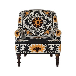 Ellie Embroidered Armchair