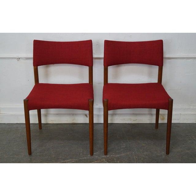 Vintage Danish Modern Teak Dining Chairs - Set of 8 - Image 3 of 11