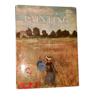 """""""The Story of Painting"""" Hardcover Book"""