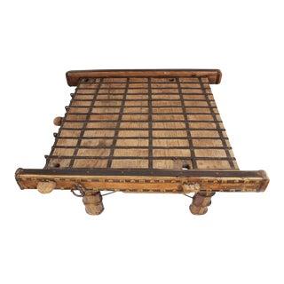 Ox Cart Coffee Table