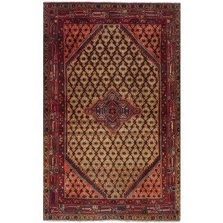 "Vintage Persian Koliai Rug - 3'10"" x 6'7"""