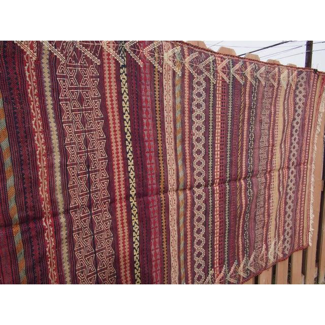 Traditional Handmade Kilim Rug - 4′6″ × 8′1″ - Image 9 of 9