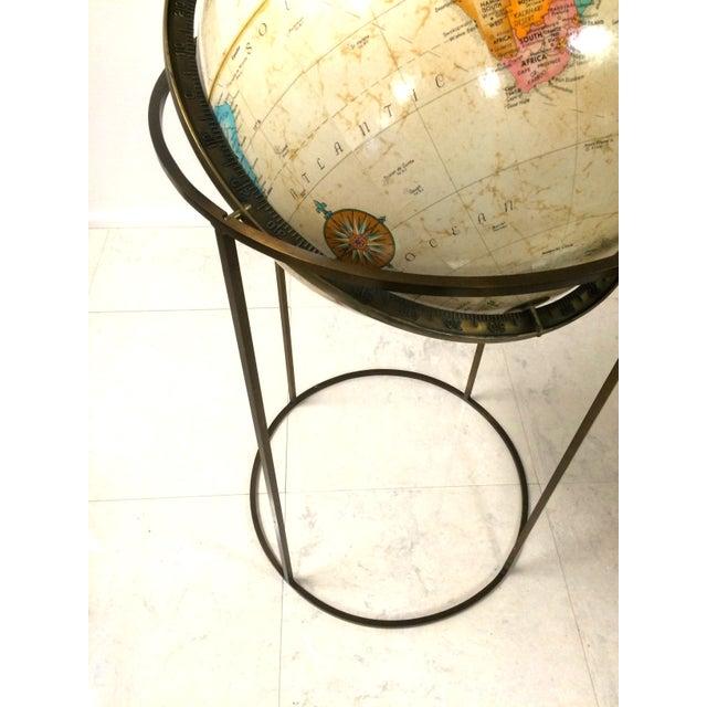 Vintage Paul McCobb Globe on Brass Stand - Image 3 of 6