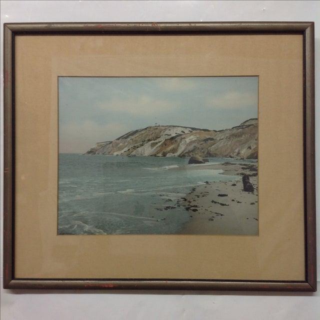 Wallace Nutting Tinted Atlantic Coast Photo 1942 - Image 2 of 6