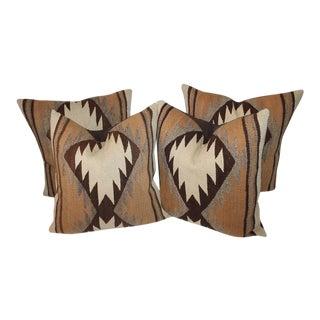 Early Transitional Navajo Indian Weaving Pillows