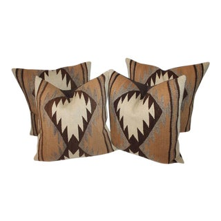 Early Transitional Navajo Indian Weaving Pillows