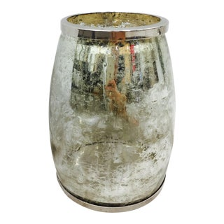 Mercury Glass Vase Lantern