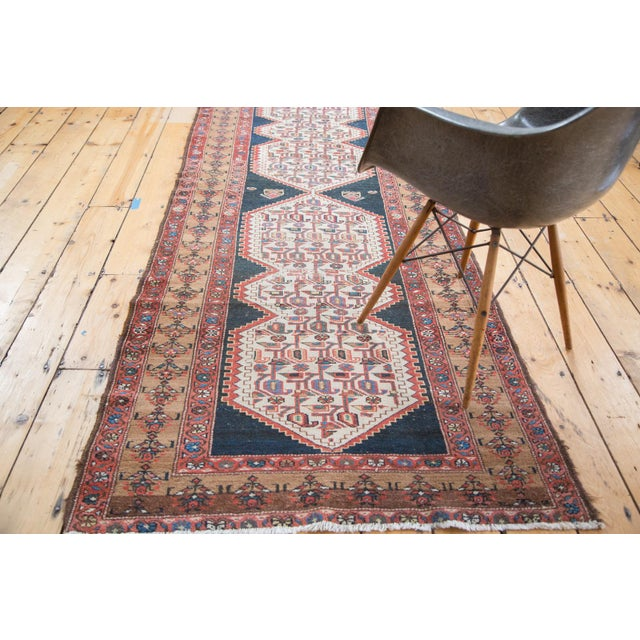 """Distressed Malayer Runner - 3'4"""" X 9'2"""" - Image 8 of 10"""