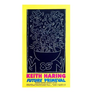 Vintage Keith Haring Exhibit Poster
