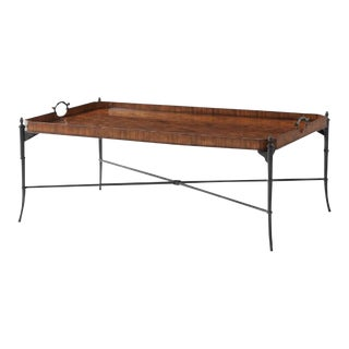 Theodore Alexander Walnut Cocktail Table