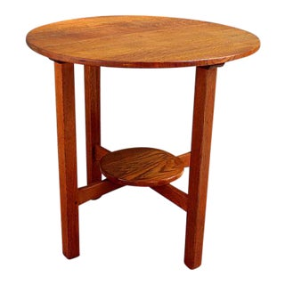 Craftsman L & JG Stickley Side Table