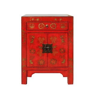 Chinese Side Table Cabinet