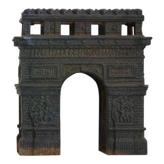 Arc de Triomphe Metal Statue