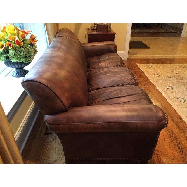 Hancock & Moore Leather Sofa - Image 6 of 6