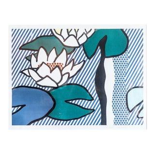 "slant select -- ""Les Nympheas"" by Roy Lichtenstein"