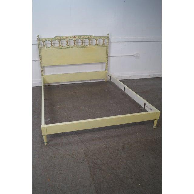 Widdicomb Mid-Century Venetian Style Queen Bed - Image 10 of 10