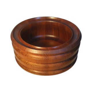 Danish Saks Fifth Avenue Teak Bowl