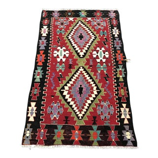 Turkish Kilim Runner Rug - 2'8''x4'4''