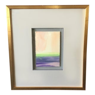 """Contemplative Spaces VI"" Framed Block Print"