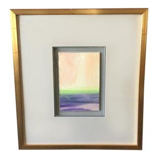 """Contemplative Spaces VI"" Framed Block Print"