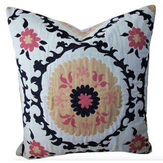 Quadrille Suzani Fine Accent Pillow