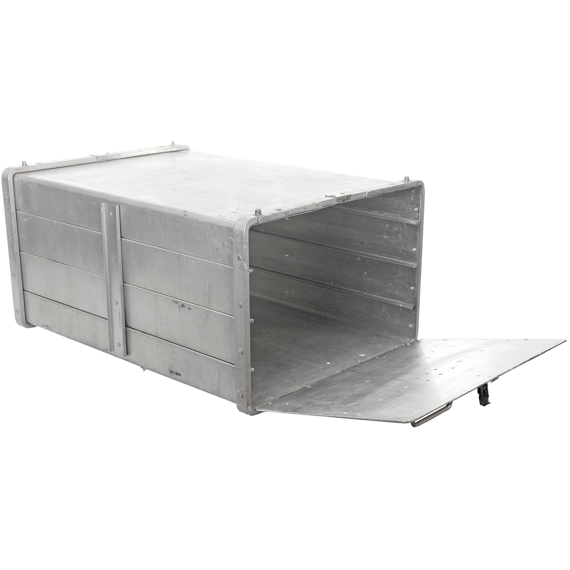 Beautiful Large Vintage Seco Aluminum Food Service Storage Bin   Image 4 Of 5