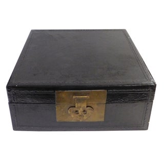 Chinese Square Black Accent Box