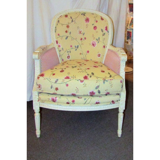 Wesley Hills Floral Upholstered Side Chair - Image 2 of 6