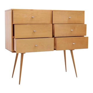 Paul McCobb Planner Group Six-Drawer on Bench by Winchendon