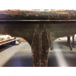 Image of Antique Carved Opium Table