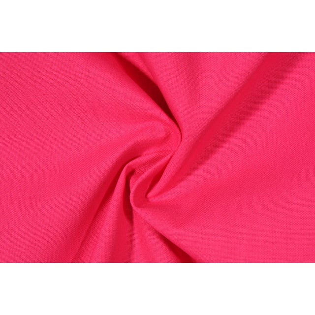 Preppy Hot Pink Outdoor Pillows - Set of 4 - Image 2 of 2