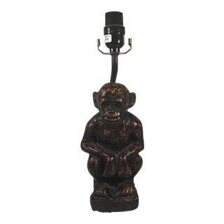 Contemporary Monkey Table Lamp