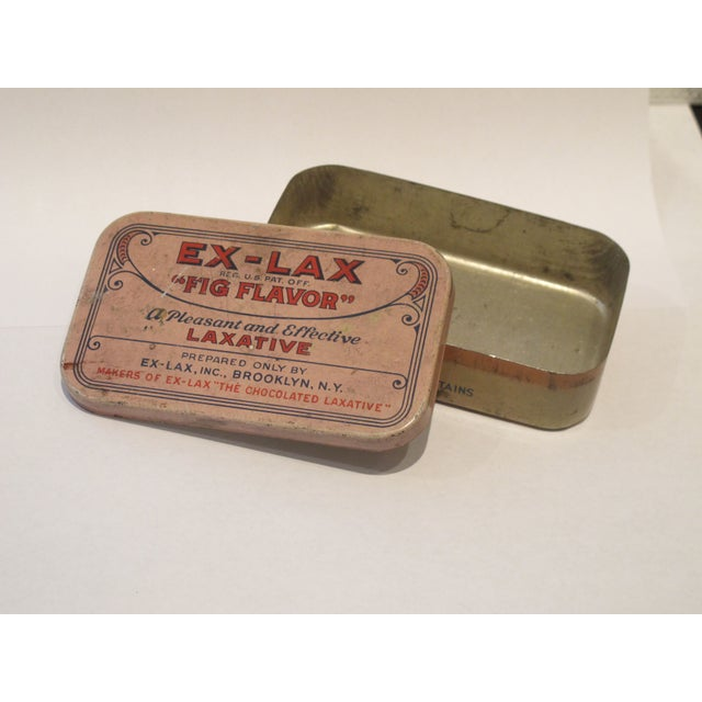 Vintage Ex Lax Tobacco Tin - Image 3 of 5