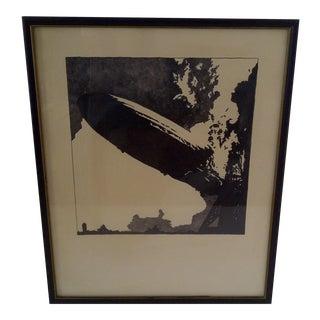 Vintage Led Zeppelin Album Cover Print