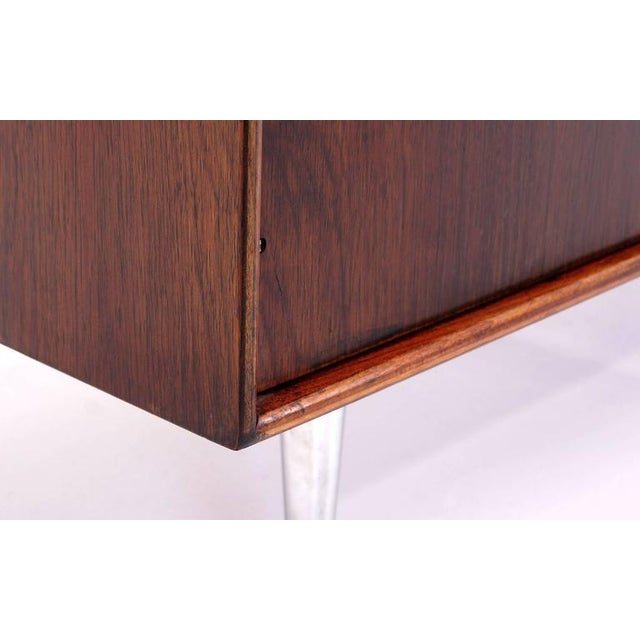 Image of George Nelson for Herman Miller Rosewood Thin Edge Cabinet