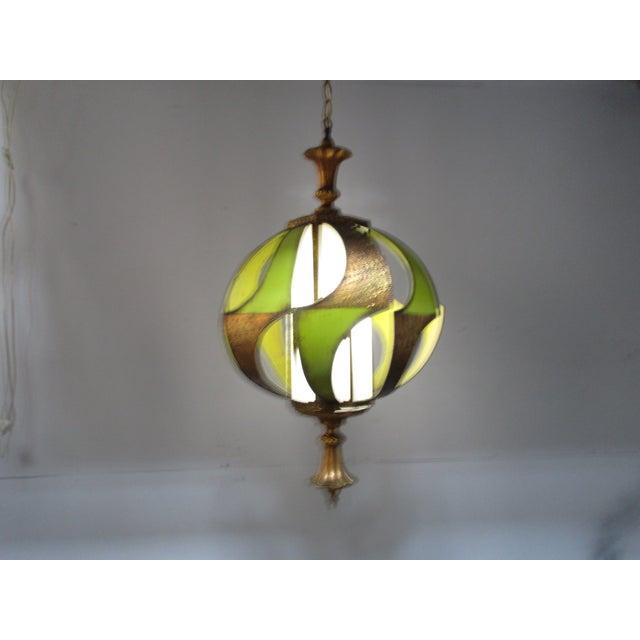 Vintage Classic 1960's Decorative Light Fixture - Image 3 of 6