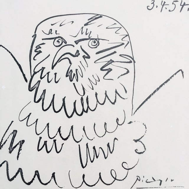 Image of Picasso Eagle Sketch Print