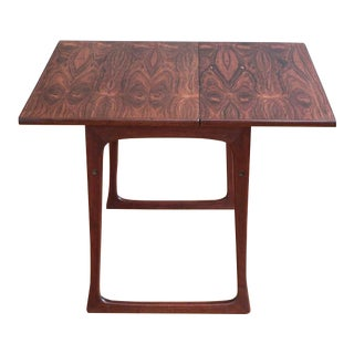 Folding Rosewood Occasional Table by J. Ingvard Jensen
