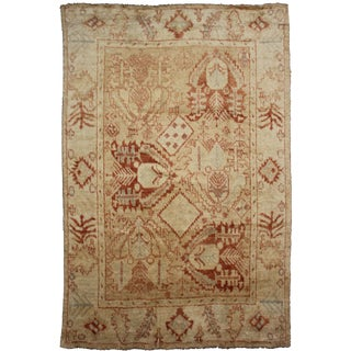 Aara Rugs Inc. Hand Knotted Fine Oushak Rug - 9′5″ × 12′