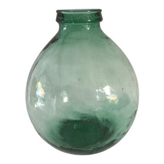"Mid-Century ""Viresa"" Green French Jug"