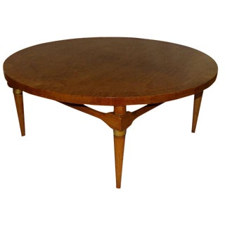 Mid-Century Modern Round Coffee Table